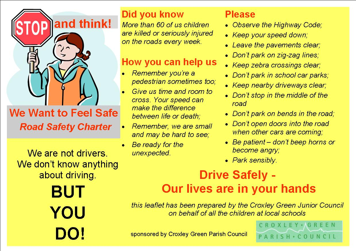 Essay road safety measures